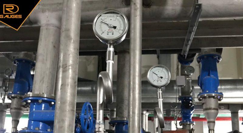 Đồng hồ đo áp suất nước cho hệ thống cấp nước Resort