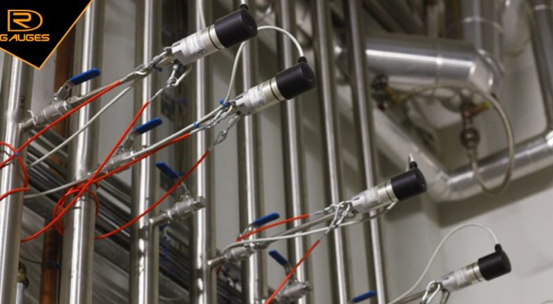 Đồng hồ đo lưu lượng khí nén tại nhà máy