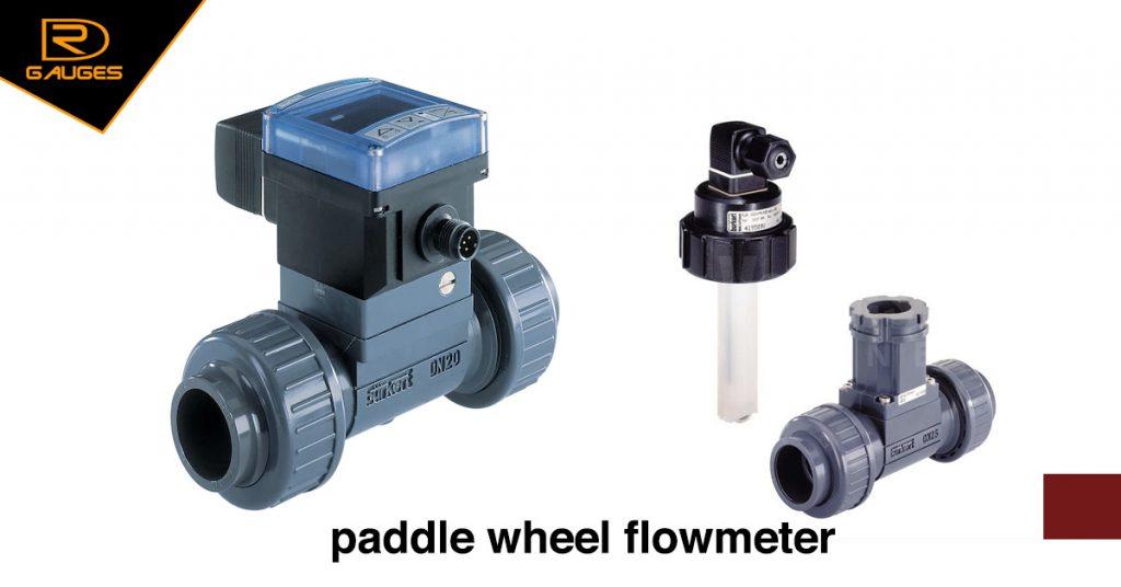 Hình ảnh Paddle wheel flow meter Hãng Burket
