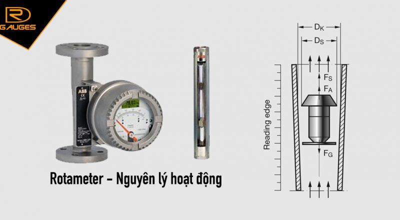Rotameter-Nguyên lý hoạt động