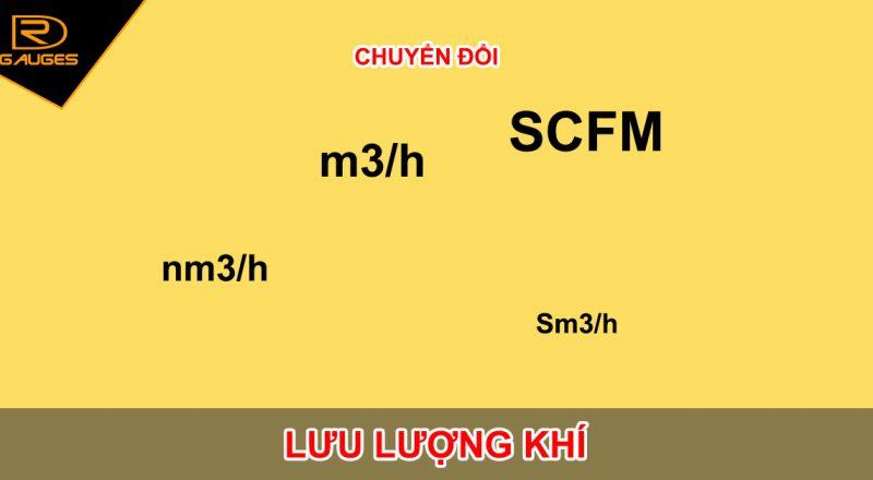 Công thức chuyển đổi Lưu lượng khí nén nm3/h